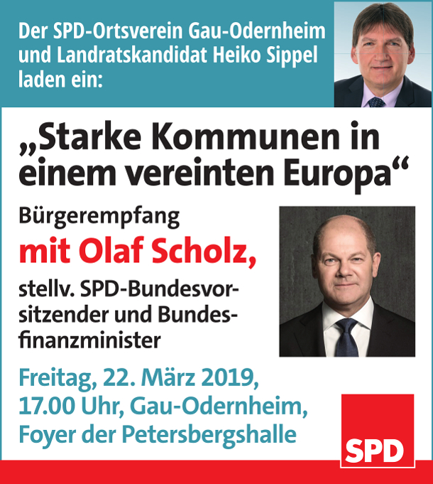 Olaf Scholz in GO 22.3.2019
