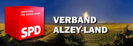 Banner zur Website www.spd-alzey-land.de